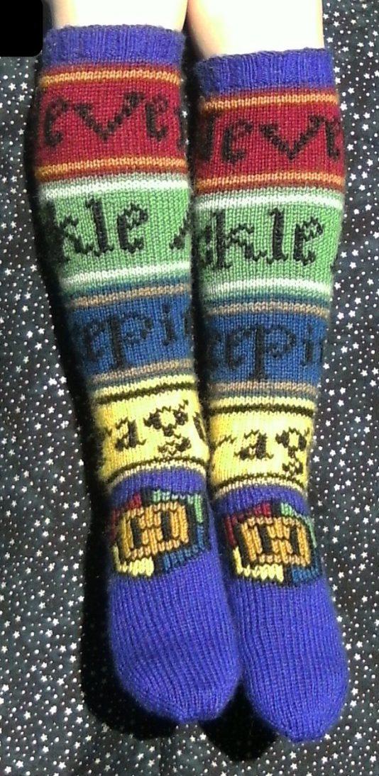 Hogwarts Socks Ann Kingstone